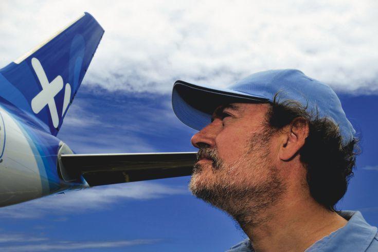 LAURENT MAGNIN, PDG XL AIRWAYS. © Photo Alain ERNOULT-ERNOULT.COM