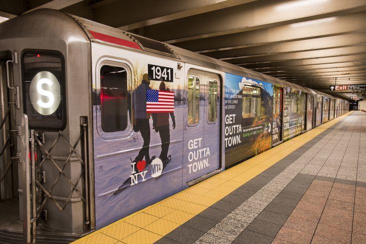 I love New York subway campaign