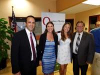 La Chambre de commerce Quebec-Floride est ici représentée par Glen Cooper (President), Vanessa Racicot (Directrice), Jade Vinet (Responsable Floride) et Daniel Veilleux (Membre du conseil).