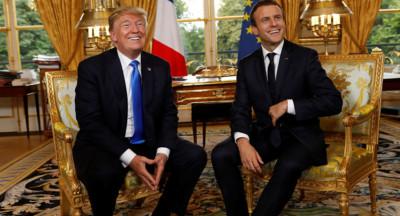 Les Américains ont apprécié la visite de Macron aux USA.