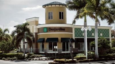 Succursale Desjardins Bank à Boyton Beach, en Floride
