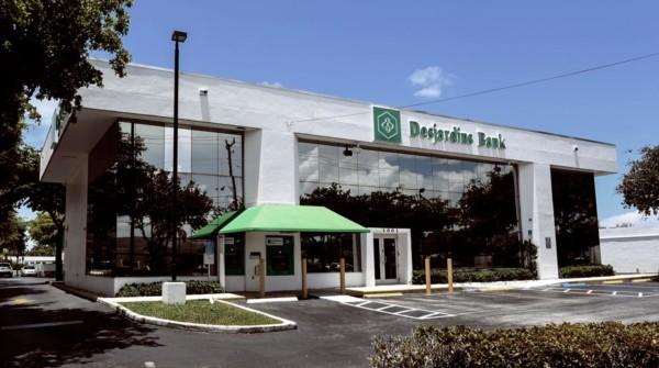 Desjardins Bank, succursale d'Hallandale Beach, Floride