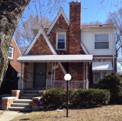 Maison a vendre, quartier Bagley a Detroit par Detroit 2L Properties.