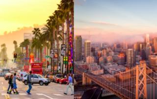 Los Angeles VS San Francisco : ou implanter sa société ?