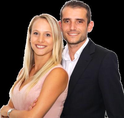 Franck et Mylène Garot, experts de l'immobilier à Miami