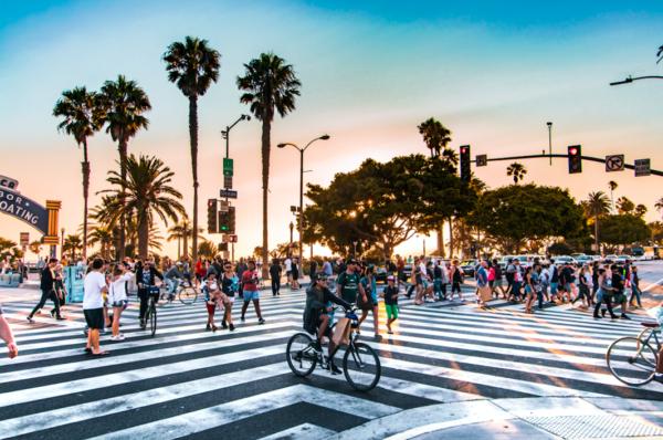 Los Angeles une ville en plein boom.