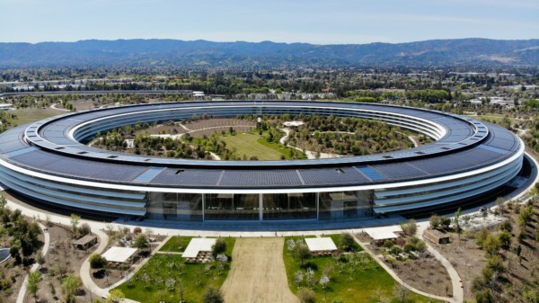 Le siège social d'Apple à Cupertino, en pleine Silicon Valley.