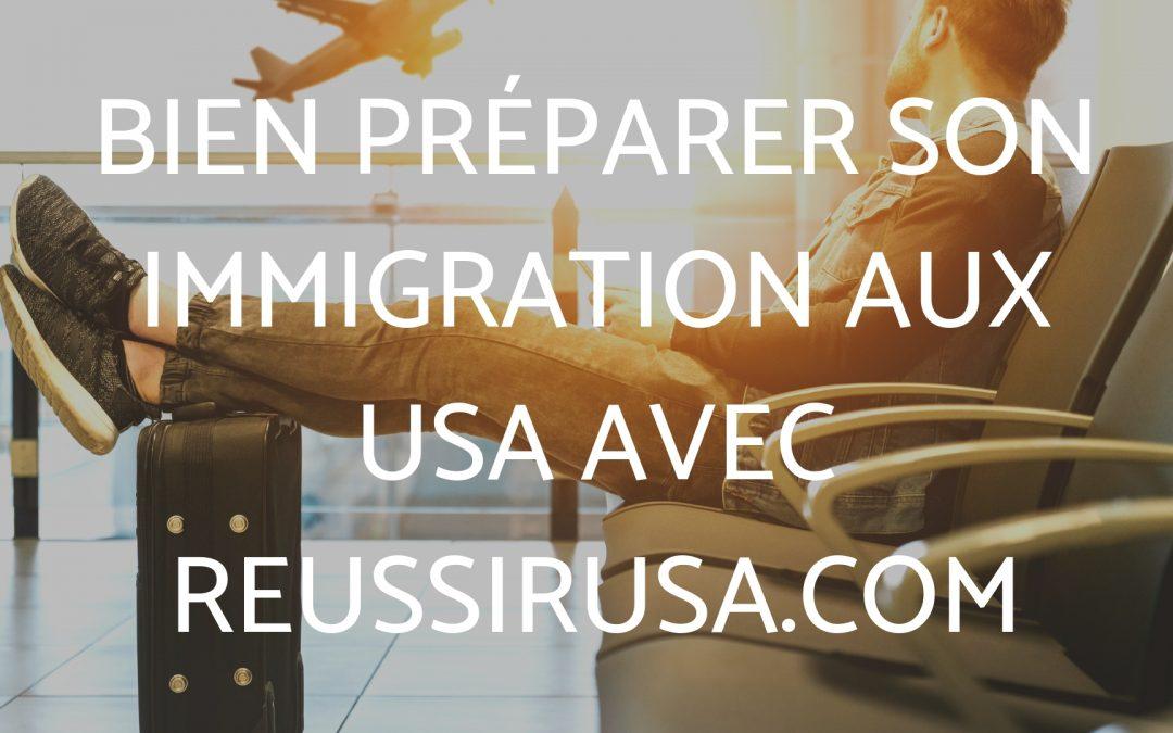 Bien préparer son immigration aux USA : Visa-E2