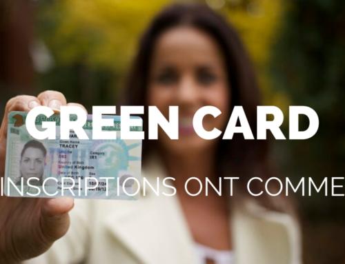 Les inscriptions pour la Green Card 2021 ont commencé !