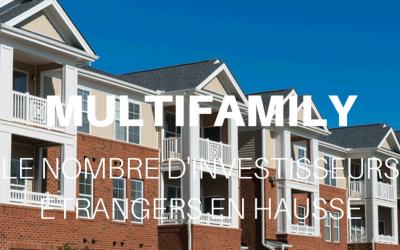 La hausse du nombre d'investisseurs étrangers sur le marché des immeubles multifamiliaux