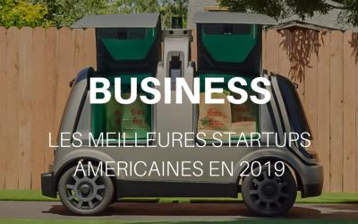 Les meilleures startups américaines en 2019