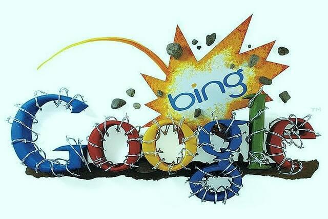 Bing revient sur Google aux USA, avec 20% de parts de marché 1