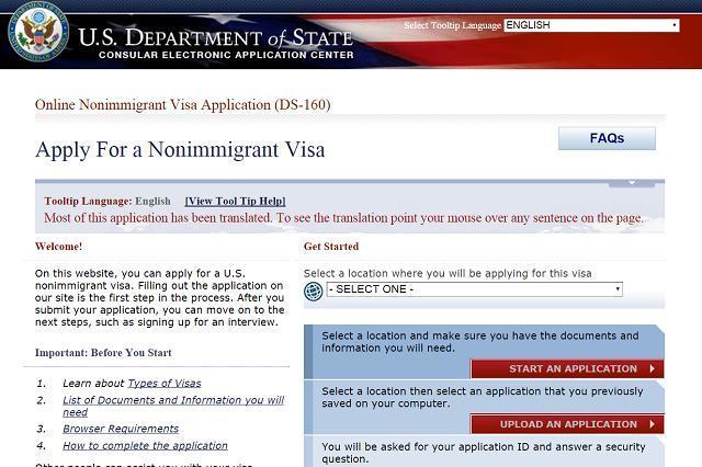 Les 4 étapes à respecter afin d'obtenir un visa B-1 3